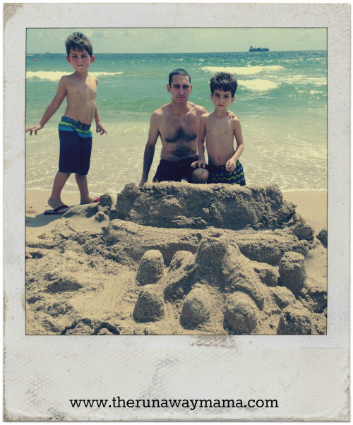 About Grandpa and Building Sandcastles