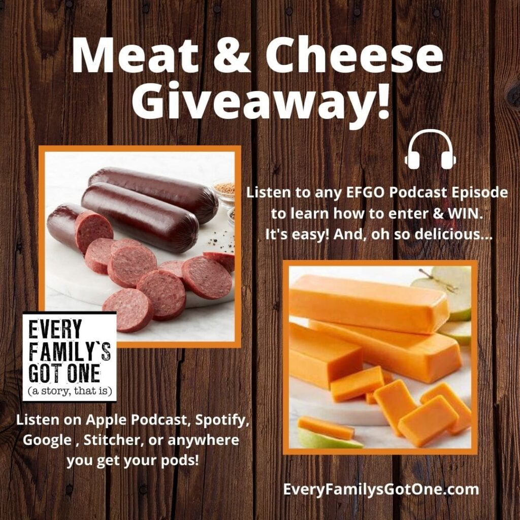 listen and enter our giveaway